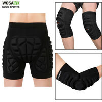 Skating Skiing Hip Pads Snowboard Knee Elbow Pads Sports Safety Protective Gear