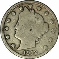 1912-D LIBERTY NICKEL - VERY NICE BETTER DATE CIRC COLLECTOR COIN! -d1488uxh