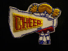 CHEERLEADER EMBROIDERY APPLIQUE PATCH EMBLEM LOT (48 DOZEN)