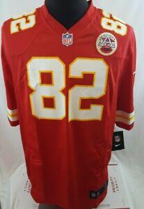 Nike Kansas City Chiefs #82 Dwayne Bowe Red Game On Field Jersey Size L