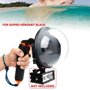 Dome Port Unterwasser Tauchen Kamera Objektiv Gehäuse Cover für GoPro Hero 5/6/7