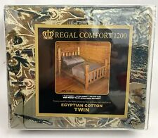 Regal Comfort Camo Camouflage TWIN Sheet Set Brown Flat Fitted Pillowcases