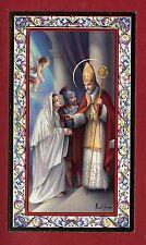 SANTINO SAN VALENTINO   IMAGE PIEUSE - HOLY CARD-  Heiligenbild