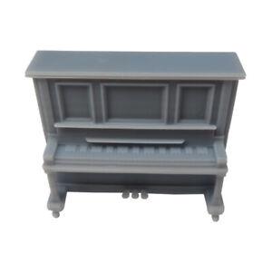 1x 3D printed VINTAGE UPRIGHT PIANO 1:43,O Interior Model Railway Diorama Scener