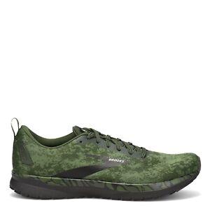 AUTHENTIC Brooks Revel 4 Green Black White Comfortable Running Shoe Men size