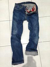 Authentic PHERROW'S stormy blue selvedge jeans size 28