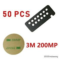50x Covering Side Connector Sticker for Motorola HT750 HT1250 Portable Radio