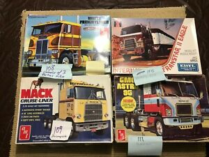 AMT ERTL TRACTORS - SELLING LOT OF 4 KITS - ONE PRICE -NO RESERVE!