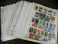 ITALY & AREA, 100s & 100s  of Stamps mostly hinged on remainder pages