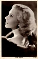 Jean Arthur Hollywood Sexy Actress Film Movie Star 1930s Real Photo Postcard