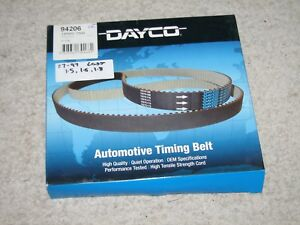 DAYCO TIMING BELT ( T179 ) SUIT FORD LASER , MAZDA 323 , MX5 1.6 & 1.8