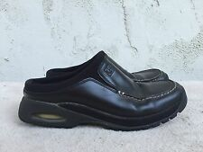 Cole Haan Country Women US 7.5 B Slip On Mule Loafer Shoes Clog Black Nike Air