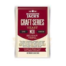 *Special* Expired 3-2018 Mangrove Jack's M31 Belgian Tripel Yeast 10g