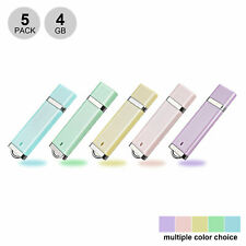 5Lot 4GB USB Flash Drive Storage USB 2.0 Pen Drive Flash Memory Stick Thumb