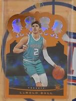 LaMelo Ball 2020-21 20-21 Panini Crown Royale Rookie Crystal Parallel SSP #79
