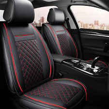 Black Red Seat Covers Fit Toyota Camry Altise Corolla  RAV4 Hilux Prado Kluger