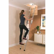 YOUNGMAN SPACEMAKER 2 SECTION ALUMINIUM SLIDING LOFT LADDER 302340 NEW