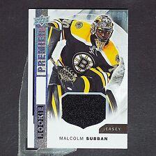 MALCOLM SUBBAN  RC  2015/16 Premier Rookie Jersey #R20  Boston Bruins single