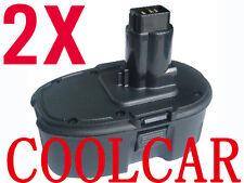 2 Battery For Dewalt 18V 2.0Ah Ni-Cd DW988 DC330 DC628 DC729 DC759 DW056 DW059