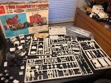 1/43 AMT T785 Peterbilt 2 Truck Kit Wrecker & Road Truck Read Description!