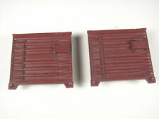 Lionel 714-20 parts: TWO Scale / semi-scale Boxcar Ends, NOS, EXC