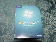 Microsoft Windows 7 Professional Upgrade 32 & 64 Bit DVDs MS WIN PRO=SEALED BOX