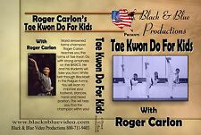 Tae Kwon Do Palgue Katas for Kids with forms by Roger Carlon FREE SHIPPING