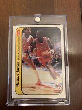 1986 Michael Jordan Fleer sticker 8 of 11 Very Nice & Centered Left To Right