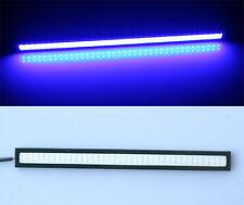 4pcs 17cm Car LED COB DRL Driving Fog Day Lights Daytime Running Lamp BLUE 12V