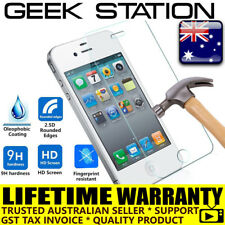 for iPhone 4 4s toughened Tempered Glass Screen Protector money back guarantee