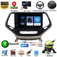 "10.2"" 1080P Android 9.0 Car GPS Radio Player 2+32G for Jeep Cherokee 2015-2018"