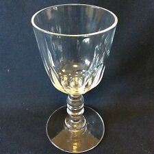 Baccarat H 10,9cm verre cristal Gondole Médicis taille côtes plates fin XIXe