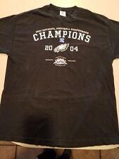 Mens 2004 Philadelphia Eagles NFC Champs T-Shirt Size X-Large