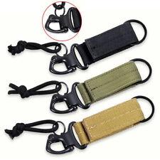Nylon Tactical Backpack Key Hook Webbing Buckle Hanging Molle Waist Belt Buckle