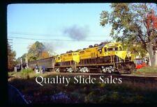 cf3825 Orig. Slide NYSW 1802, 1804 GP18's on Special 10-81