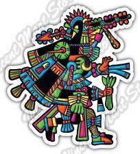 """Maya Civilization Mayan Art Aztec Itza Car Bumper Vinyl Sticker Decal 4.1""""X5"""""""