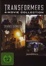 Transformers 1+2+3+4  NEU & OVP 4-Movie Collection  / 4-DVD-BOX - 4 Filme