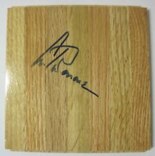 CHICAGO BULLS BASKETBALL PLAYER ARTIS GILMORE SIGNED PARQUE WOOD FLOOR TILE