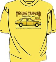 "Escort Mk3 ""Ticking Tappets Garage Services"" humour  t-shirt"