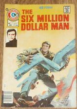 No 1 Six Million Dollar Man  Charlton Comics  June 1976