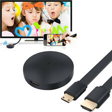 TV Dongle Wireless WiFi Display Receiver HDMI AirPlay Miracast DLNA + HD Cable