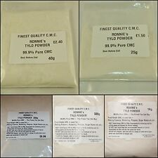 TYLO CMC TYLOSE Powder In BAGS, 25g - 40g - 100g - 300g - 500g - 1kg, Sugarcraft
