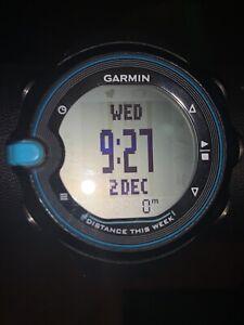 Garmin Swim Smart Watch Black Blue Distance