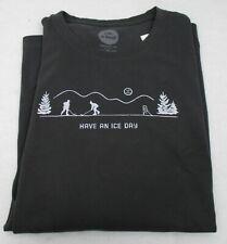 Men's Life is Good L/S T Shirt Pond Hockey XL