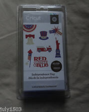 (1) NEW Factory Sealed Cricut Cartridge - Independence Day #2000319 - free ship