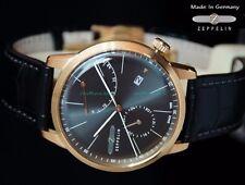 Graf Zeppelin LZ129 Flatline Automatic Men's Dress Watch w/ Power Reserve 7368-2