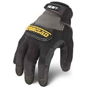 Ironclad Heavy Utility Tradie Builders Work Gloves Construct Abrasion Protection
