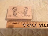 Stamp A Kiss House Mouse Stampa Rosa Rubber Stamp Limited Edition Mice Lips