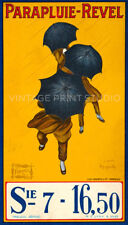 Parapluie Revel, 1929 by Cappiello Vintage French Advertising Canvas Print 20x35