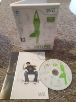 Wii Fit - Nintendo Wii/Wii U Fitness Game - No Balance Board - FAST & FREE P&P!